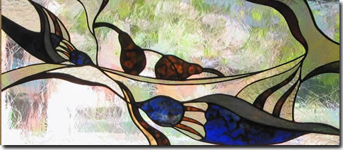 Our Dana Bassard stained glass